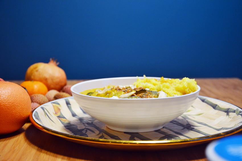 Szybki Obiad potrawka z cukinią w curry 2
