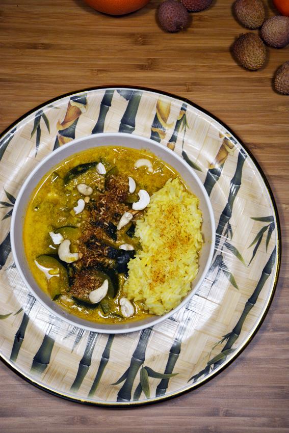 Szybki Obiad potrawka z cukinią w curry 3