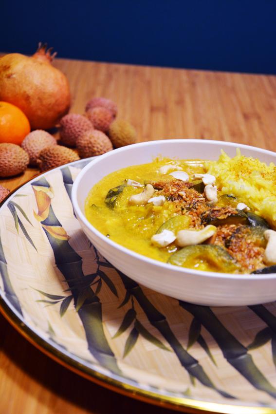 Szybki Obiad potrawka z cukinią w curry 4