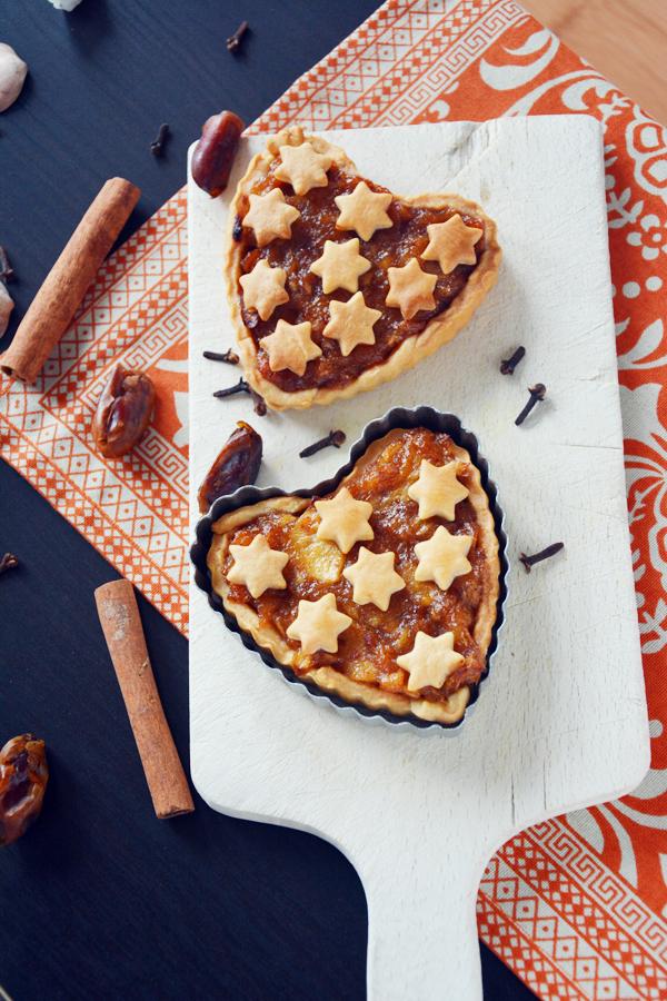 Mini tarta z jabłkami 4