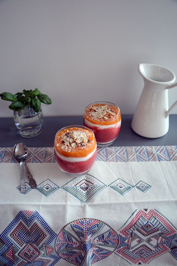 fit deser jogurtowy z truskawkami 4