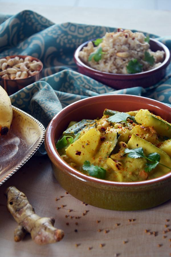 Banana curry 2