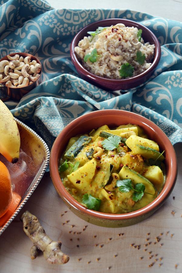 Banana curry 3
