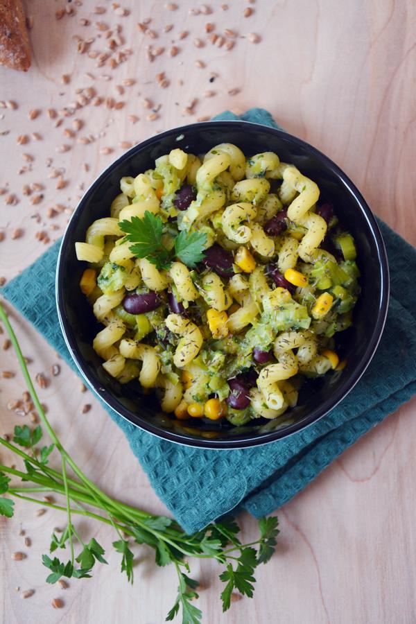 Szybki Obiad Zielony Makaron