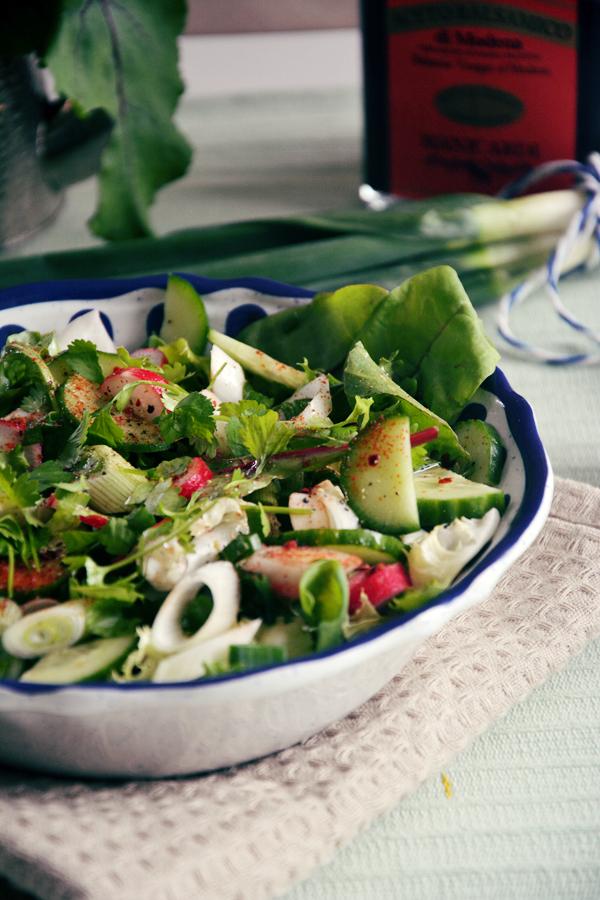 sałatka wiosenna fit dieta 2