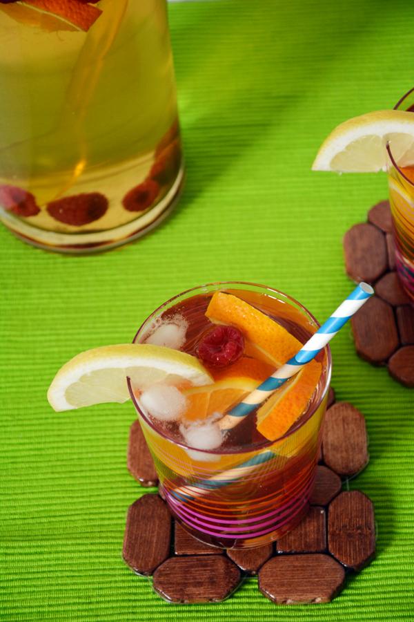 ice tea mrożona herbata domowy sposób 2