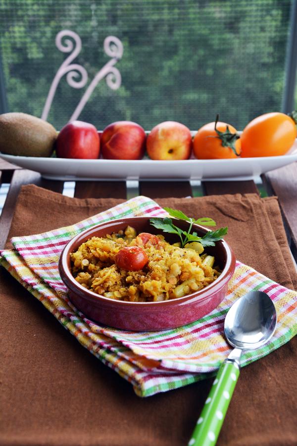 soczewica z fasolką szparagową 1 wegański